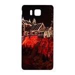 Clifton Mill Christmas Lights Samsung Galaxy Alpha Hardshell Back Case Front