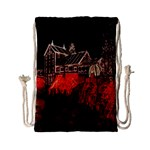 Clifton Mill Christmas Lights Drawstring Bag (Small) Front