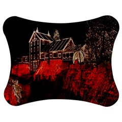 Clifton Mill Christmas Lights Jigsaw Puzzle Photo Stand (Bow)