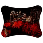 Clifton Mill Christmas Lights Jigsaw Puzzle Photo Stand (Bow) Front