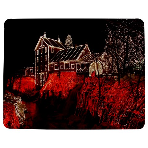 Clifton Mill Christmas Lights Jigsaw Puzzle Photo Stand (Rectangular)