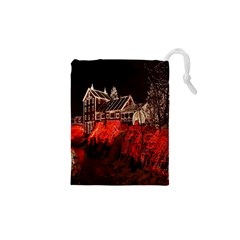 Clifton Mill Christmas Lights Drawstring Pouches (XS)
