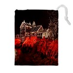 Clifton Mill Christmas Lights Drawstring Pouches (Extra Large) Front