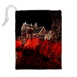 Clifton Mill Christmas Lights Drawstring Pouches (Extra Large) Back