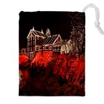 Clifton Mill Christmas Lights Drawstring Pouches (XXL) Front