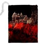 Clifton Mill Christmas Lights Drawstring Pouches (XXL) Back