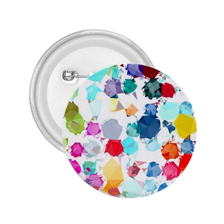 Colorful Diamonds Dream 2.25  Buttons