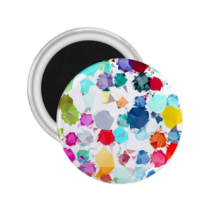 Colorful Diamonds Dream 2.25  Magnets