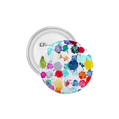 Colorful Diamonds Dream 1 75  Buttons