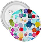 Colorful Diamonds Dream 3  Buttons Front
