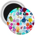 Colorful Diamonds Dream 3  Magnets Front
