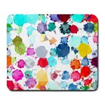 Colorful Diamonds Dream Large Mousepads Front