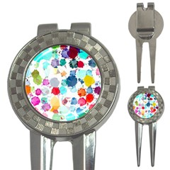 Colorful Diamonds Dream 3 In 1 Golf Divots