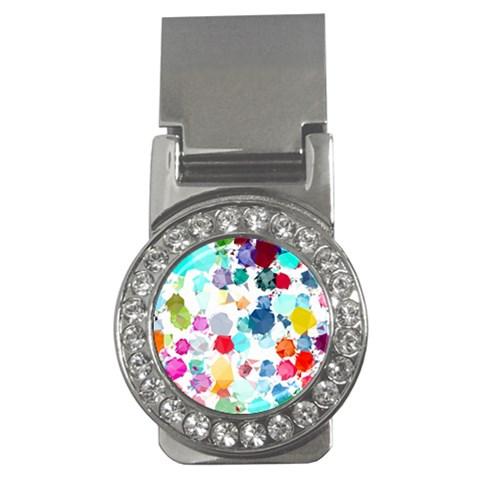 Colorful Diamonds Dream Money Clips (CZ)