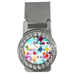 Colorful Diamonds Dream Money Clips (CZ)  Front