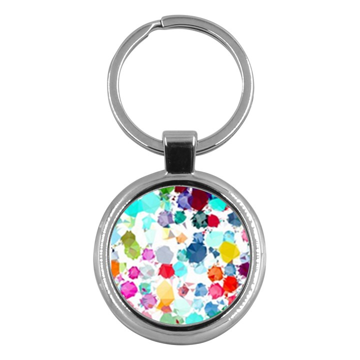Colorful Diamonds Dream Key Chains (Round)