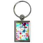 Colorful Diamonds Dream Key Chains (Rectangle)  Front