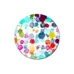 Colorful Diamonds Dream Magnet 3  (Round) Front