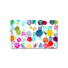 Colorful Diamonds Dream Magnet (name Card)