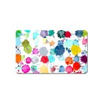 Colorful Diamonds Dream Magnet (Name Card) Front