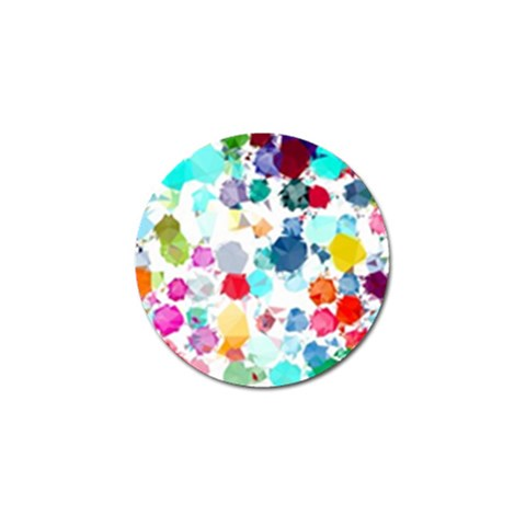 Colorful Diamonds Dream Golf Ball Marker