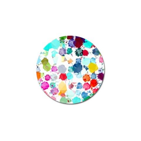 Colorful Diamonds Dream Golf Ball Marker (4 pack)