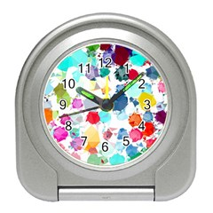 Colorful Diamonds Dream Travel Alarm Clocks