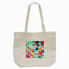 Colorful Diamonds Dream Tote Bag (cream)
