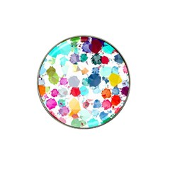 Colorful Diamonds Dream Hat Clip Ball Marker