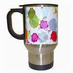 Colorful Diamonds Dream Travel Mugs (White) Left