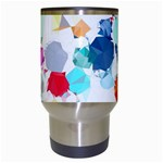Colorful Diamonds Dream Travel Mugs (White) Center