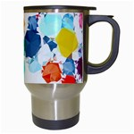 Colorful Diamonds Dream Travel Mugs (White) Right