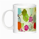 Colorful Diamonds Dream Night Luminous Mugs Left
