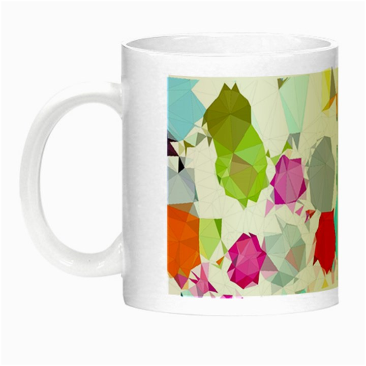 Colorful Diamonds Dream Night Luminous Mugs