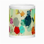Colorful Diamonds Dream Night Luminous Mugs Center