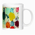 Colorful Diamonds Dream Night Luminous Mugs Right