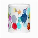 Colorful Diamonds Dream Morph Mugs Center