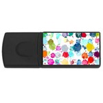Colorful Diamonds Dream USB Flash Drive Rectangular (4 GB)  Front