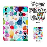 Colorful Diamonds Dream Playing Cards 54 Designs  Front - SpadeK