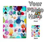 Colorful Diamonds Dream Playing Cards 54 Designs  Front - SpadeA