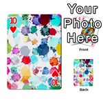 Colorful Diamonds Dream Playing Cards 54 Designs  Front - Heart10