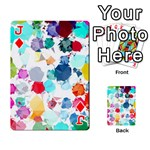 Colorful Diamonds Dream Playing Cards 54 Designs  Front - DiamondJ