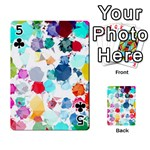 Colorful Diamonds Dream Playing Cards 54 Designs  Front - Club5