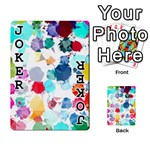 Colorful Diamonds Dream Playing Cards 54 Designs  Front - Joker1