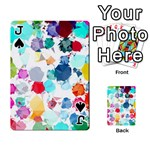 Colorful Diamonds Dream Playing Cards 54 Designs  Front - SpadeJ