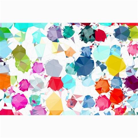 Colorful Diamonds Dream Collage Prints