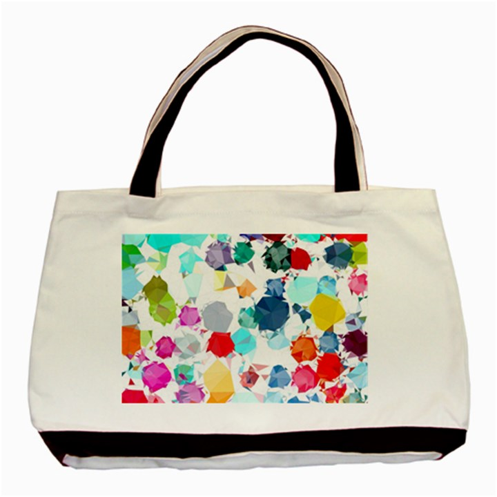Colorful Diamonds Dream Basic Tote Bag