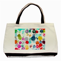 Colorful Diamonds Dream Basic Tote Bag (two Sides)