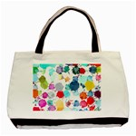 Colorful Diamonds Dream Basic Tote Bag (Two Sides) Back