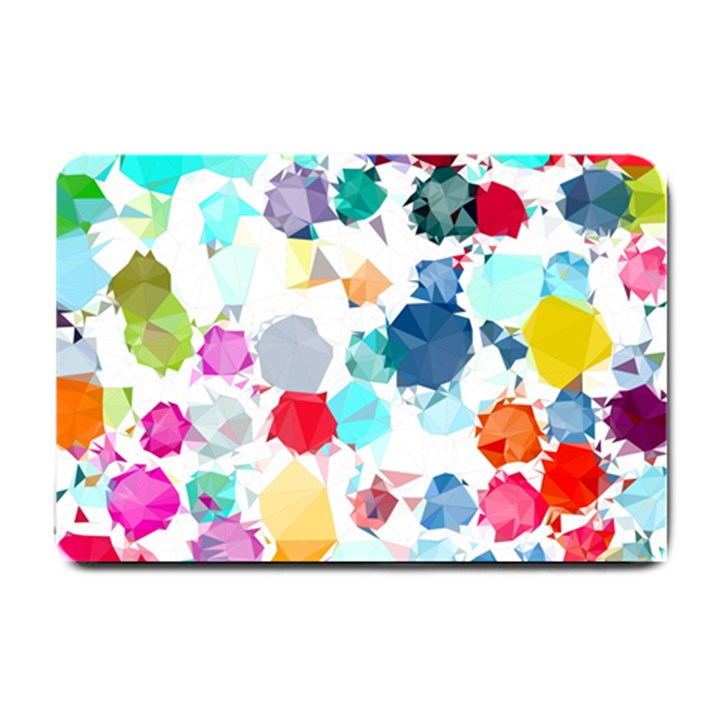 Colorful Diamonds Dream Small Doormat